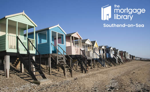 Image of the beach huts on Southend seafront